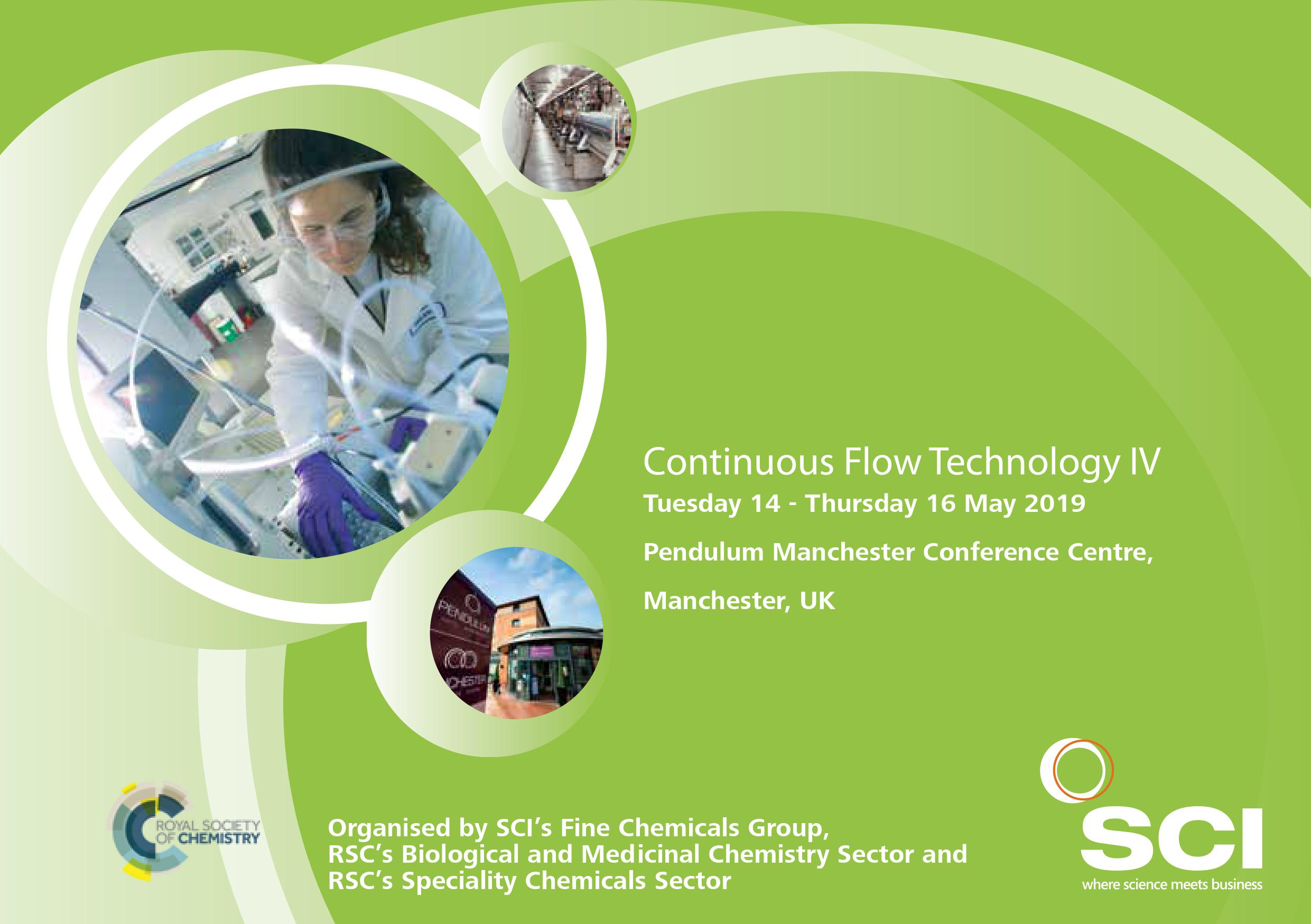 RSC-SCI Continuous Flow Technology IV   RSC Speciality Chemicals Sector